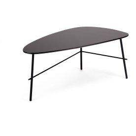 Ziggy lounge/sofabord, 93x50x40 cm, sort laminat