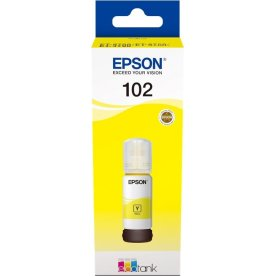 Epson T102 blæktank, gul, 70ml