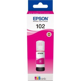 Epson T102 blæktank, magenta, 70ml