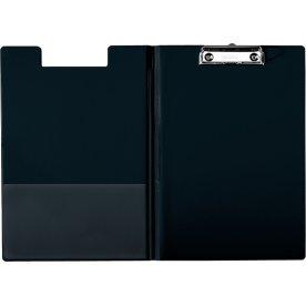 Esselte clipboard med forside A4, sort
