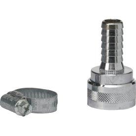 SprayWash Nito Slangekobling, 0,5 tomme, Sølv