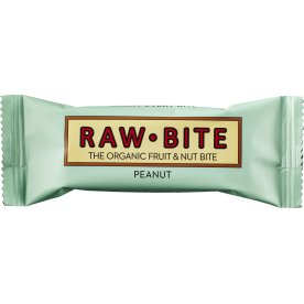 Rawbite Peanut Snackbar, 50g