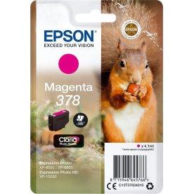Epson T378 blækpatron, magenta, 4.1 ml