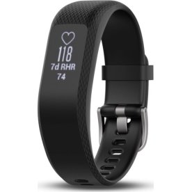 Garmin vívosmart® 3 aktivitetstracker, sort (S/M)