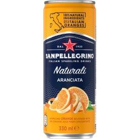 San Pellegrino m/appelsin 0,33l inkl. pant