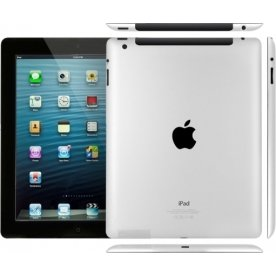 Refurbished Apple iPad 4, 16GB, sort (B+)