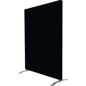 Easy skærmvæg H125xB100 cm sort