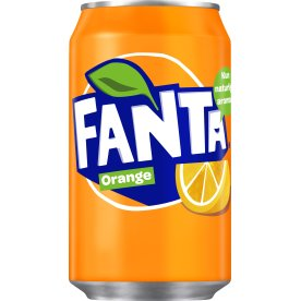 Fanta Orange 33 cl inkl. pant