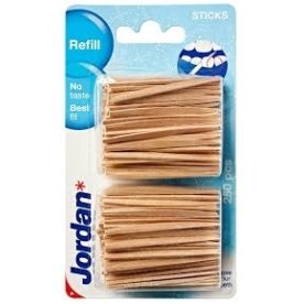 Jordan Dental Sticks Refill Tablepack, 250 stk