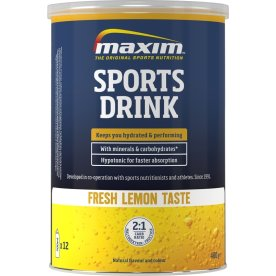 Maxim E Sports Drink fresh lemon, 480g