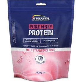 Maxim Pure Whey Protein jordbær, 400g