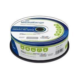 MediaRange DVD-R 16x 4.7GB printable, 25 stk