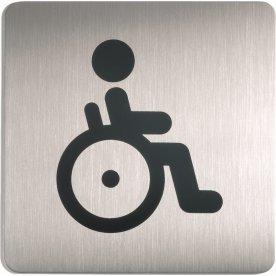 Durable Skilt Firkantet Handicap toilet