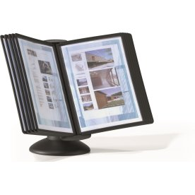 Durable Sherpa Motion 10 Displaysystem A4, sort