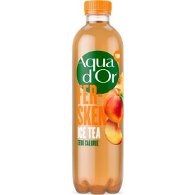 Aqua d'or Ice Tea 0,5l m. fersken, sukkerfri