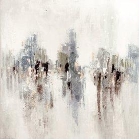 Maleri Fantasy 02, 100x100 cm