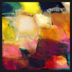 Maleri Original, 70x70 cm, inkl. ramme