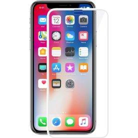 VMax 3D skærmbeskyttelse til iPhone X (hvid)