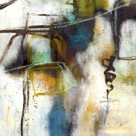 Maleri Original, 70x70 cm