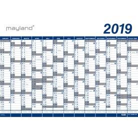 Mayland Kæmpekalender, 1x13 mdr., vinyl, 10 stk.