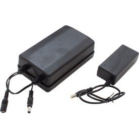 Batteripakke med genopladelig batteri+ladestation