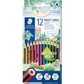 Staedtler Noris Color 185 Farveblyanter, 12 stk.