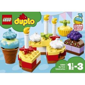 LEGO DUPLO 10862 Min første fest, 1½-3 år
