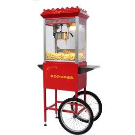 Popcornmaskine ON-PP8, rød