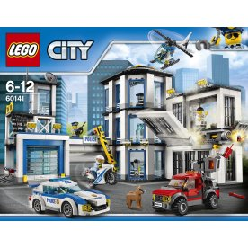 LEGO City 60141 Politistation, 6-12 år