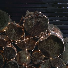 Jason slangelyskæde, L 640 cm, 80 LED