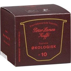 Peter Larsen Espresso no.8 Supreme, øko, 10 stk.