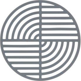 Zone Circle bordskåner, cool grey