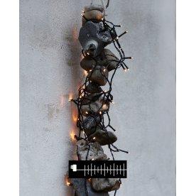 Time-Line Cluster lyskæde, 2 m, 160 LED lys