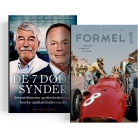 """Bogpakke - """"Formel 1"""" & """"De 7 dødssynder"""""""