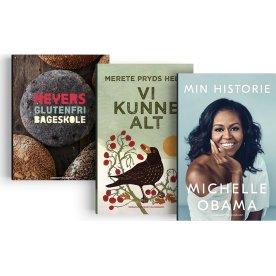 Bogpakke - Meyer, Michelle Obama & Merete P. Helle