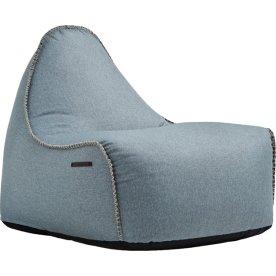 RETROit Medley sækkestol, Støvet blå