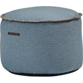 RETROit Medley Drum puf, Støvet blå