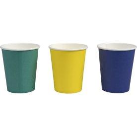 Kaffebæger, assorteret farver, 24 cl