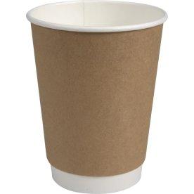 Kaffebæger, dobbelt lag, 49 cl