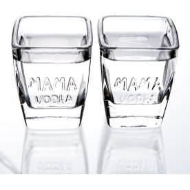 MAMA VODKA Signatur Shot Glas, 12 stk., 5 cl