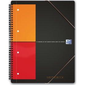 Oxford Int. Meetingbook Spiralbog A4+, kvadreret