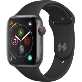 Apple Watch Series 4 (GPS+Cellular) 44mm, sort