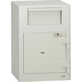 Deponeringsboks ASD19, 50 L, Nøglelås
