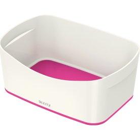 Leitz MyBox Opbevaringsbakke, hvid/pink