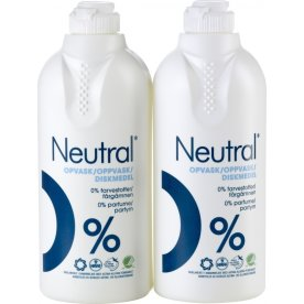 Neutral Koncertreret Opvask Duo Pack, 2 x 500 ml