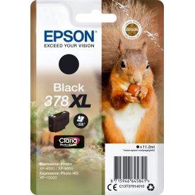 Epson T378 XL blækpatron, sort