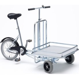 Lagercykel m/ lad