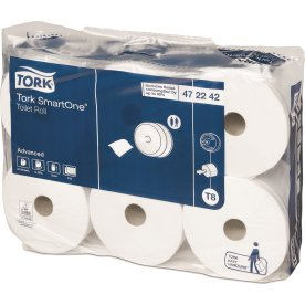 Tork T8 SmartOne Advanced toiletpapir, 2-lags
