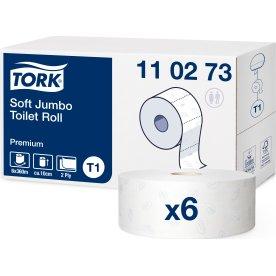 Tork T1 Premium Jumbo toiletpapir, 2-lags