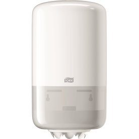 Tork M1 Mini Dispenser aftørringspapir, hvid